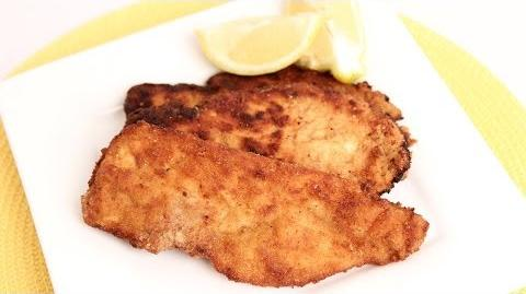 Homemade Chicken Cutlets Recipe - Laura Vitale - Laura in the Kitchen Episode 730