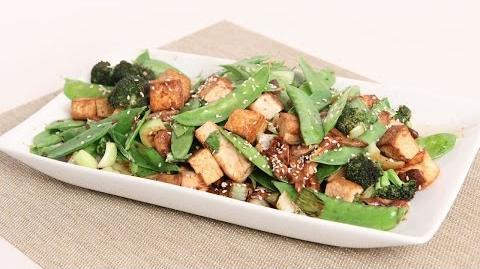 10 Minute Tofu & Veggie Stir Fry Recipe - Laura Vitale - Laura in the Kitchen Episode 1006