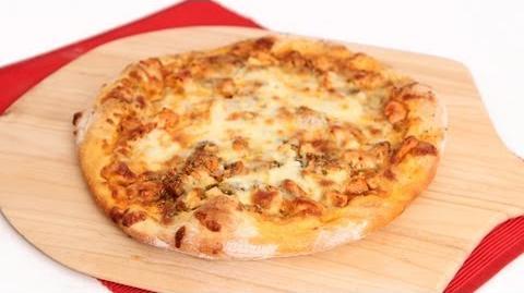 Learn to bake Buffalo Chicken Pizza!