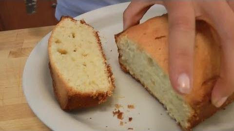 Learn to bake Pound Cake!
