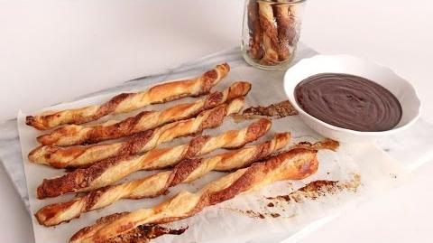 Baked Churro Twists with Chocolate Sauce Episode 1073