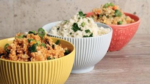 Cauliflower Rice 3 Ways Episode 1152
