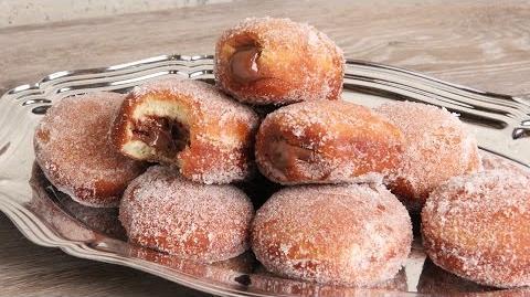 Bomboloni Nutella Stuffed Italian Donuts Episode 1132