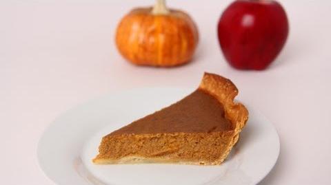 Apple Butter Pumpkin Pie Recipe - Laura Vitale - Laura in the Kitchen Episode 484