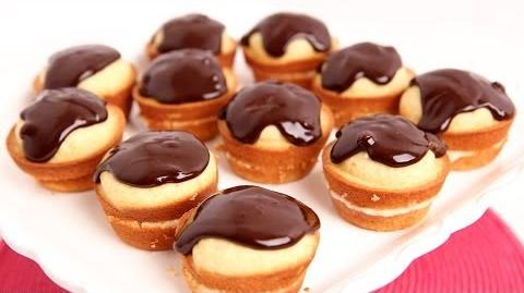 Learn to bake Boston Cream Cupcakes!