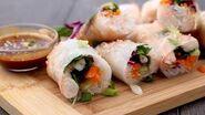 Shrimp Summer Rolls with Peanut Dipping Sauce