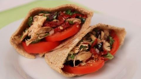 Chicken Pita Sandwich - Laura Vitale - Laura in the Kitchen Episode 446
