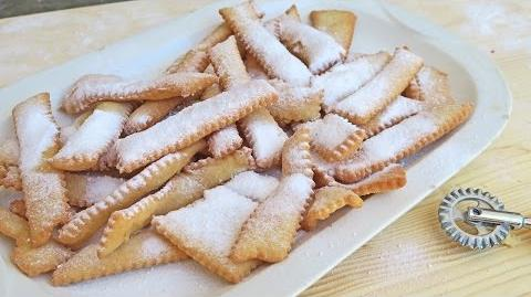 Nonna's Chiacchiere (Italian Fried Cookies) Recipe - Laura Vitale - Laura in the Kitchen Episode 937