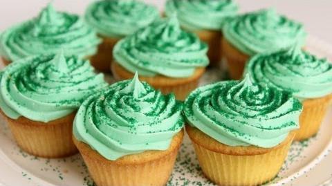 Laura will bake Shamrock Milkshake Cupcakes!