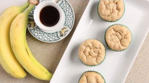 Chai Tea Banana Muffins Recipe - Laura Vitale - Laura in the Kitchen Episode 1008