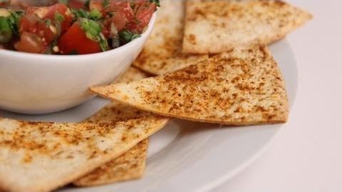 Learn to bake Crispy Tortilla Chips!