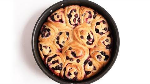 Learn to bake Lemon Blueberry Rolls!