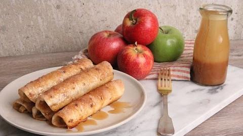 Caramel Apple Taquitos Recipe Episode 1105