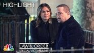 Benson Comforts Fin After Leon's Death - Law & Order SVU