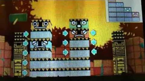 Professor Layton en het Masker der Wonderen - Puzzel 053 Stoot de Totems! 2