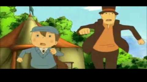 Professor Layton and the Curious Village All Cutscenes