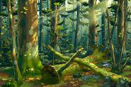 Wald am Loch Greymoor