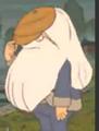 Seamus hiding in shame