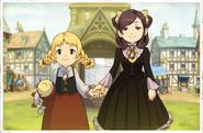 Sophie und Nora Kindheit