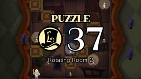 Puzzle Solution Puzzle 37 - Rotating Room 2 (Professor Layton vs Phoenix Wright Ace Attorney)