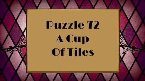 Professor Layton and the Miracle Mask - Puzzle 72 A Cup Of Tiles