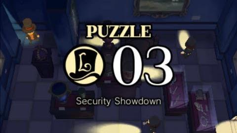 Puzzle Solution Puzzle 03 - Security Showdown (Professor Layton vs Phoenix Wright Ace Attorney)