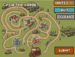 Professor Layton and the Curious Village/List of puzzles