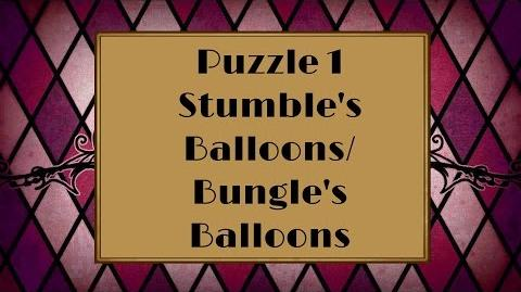 Professor Layton and the Miracle Mask - Puzzle 1 Stumble's Balloons (US) Bungle's Balloons (UK)