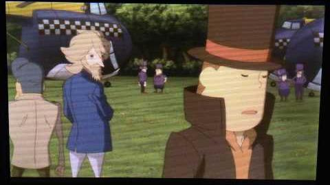 Professor Layton and the Azran Legacy Cutscene 29 (US Version)