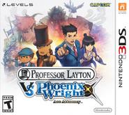 Professor Layton vs Ace Attorney Boxart