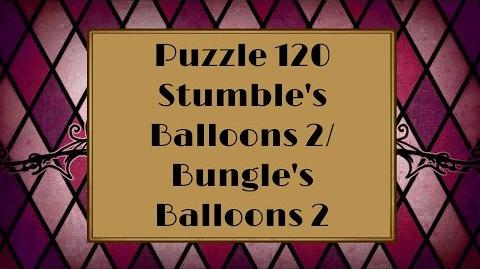 Professor Layton & the Miracle Mask - Puzzle 120 Stumble's Balloons 2 (US) Bungle's Balloons 2(UK)