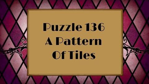 Professor Layton and the Miracle Mask - Puzzle 136 A Pattern of Tiles