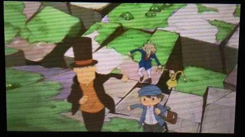 Professor Layton and the Azran Legacy Cutscene 28 (US Version)
