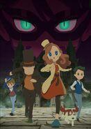Layton anime poster 2