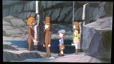 Professor Layton and the Azran Legacy Cutscene 3 (US Version)