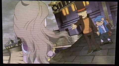 Professor Layton and the Azran Legacy Cutscene 20 (US Version)