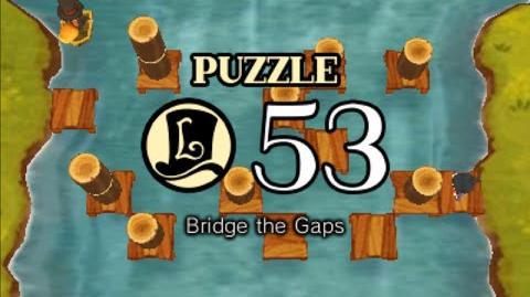 Puzzle Solution Puzzle 53 - Bridge the Gaps (Professor Layton vs Phoenix Wright Ace Attorney)