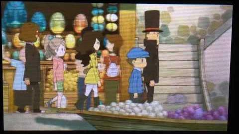 Professor Layton and the Azran Legacy Cutscene 16 (US Version)