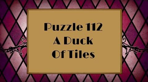 Professor Layton and the Miracle Mask - Puzzle 112 A Duck Of Tiles