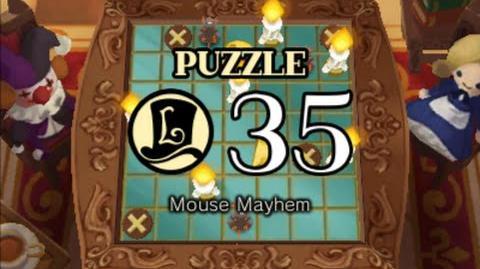 Puzzle Solution Puzzle 35 - Mouse Mayhem (Professor Layton vs Phoenix Wright Ace Attorney)