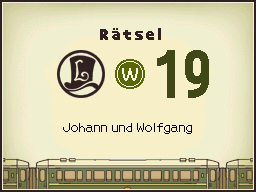 Johann und Wolfgang