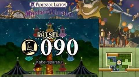 Professor Layton und die Maske der Wunder Rätsel 90