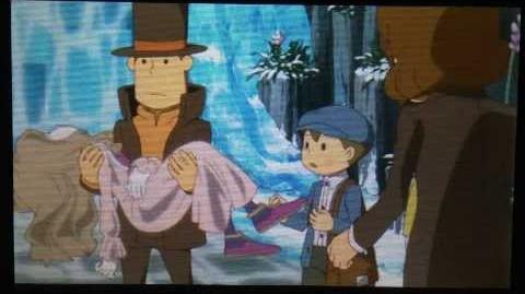 Professor Layton and the Azran Legacy Cutscene 4 (US Version)