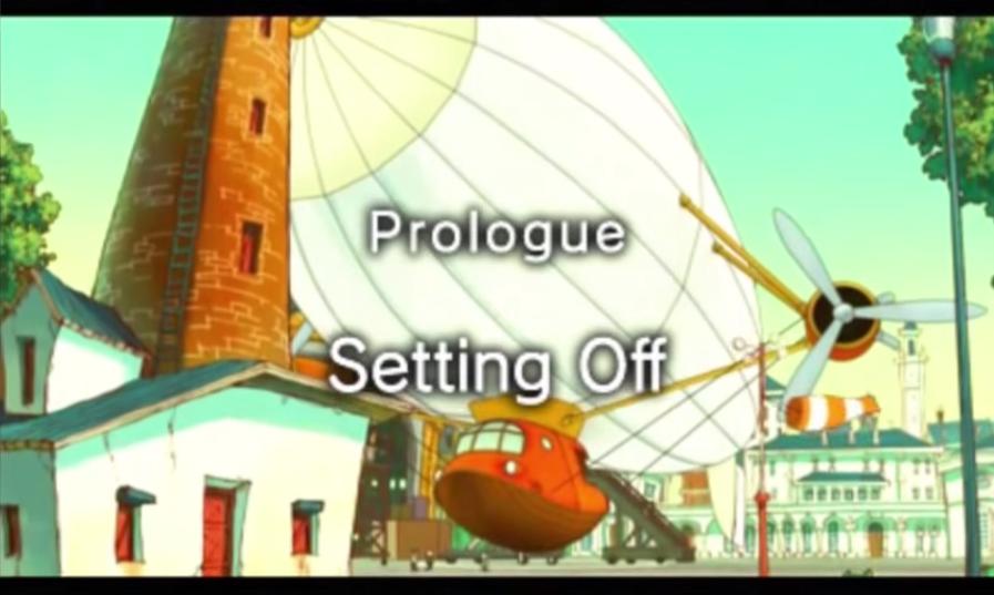 Prologue: Setting Off