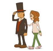 Layton und Claire