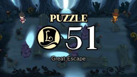 Puzzle Solution Puzzle 51 - Great Escape (Professor Layton vs Phoenix Wright Ace Attorney)