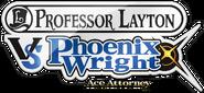 Professor Layton VS Phoenix Wright Logo Alt