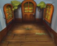 Rätselhütte Innen