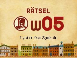 Mysteriöse Symbole