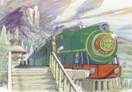 Layton2 Molentary Express Artwork
